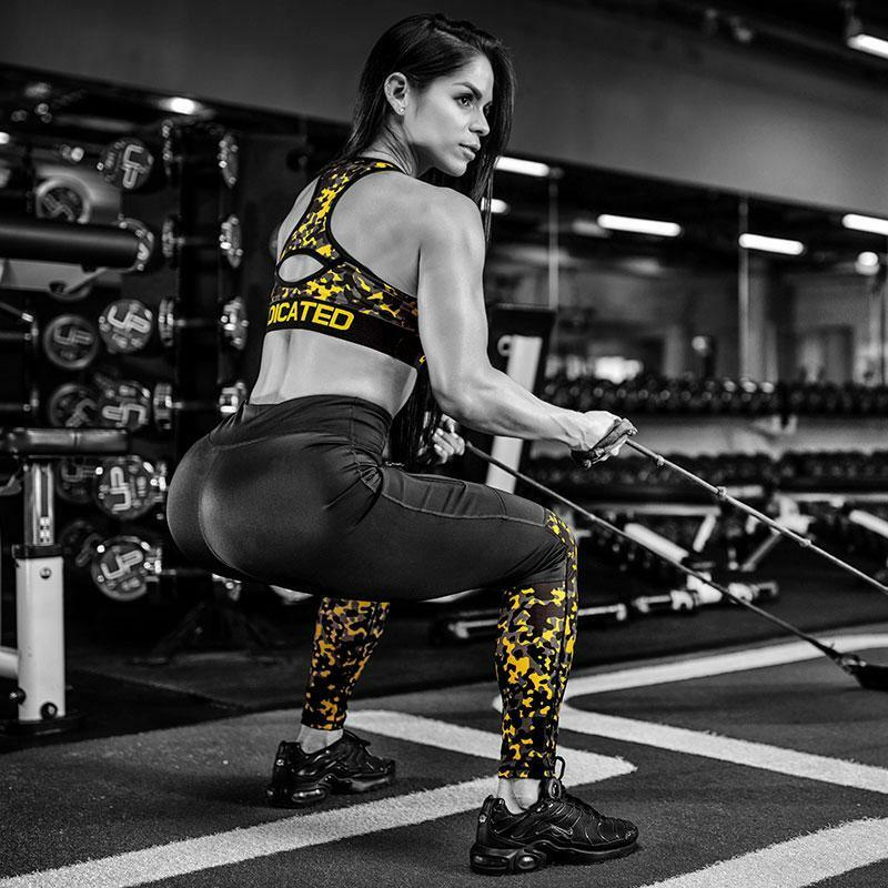 Dedicated Women Camo Sports Tights