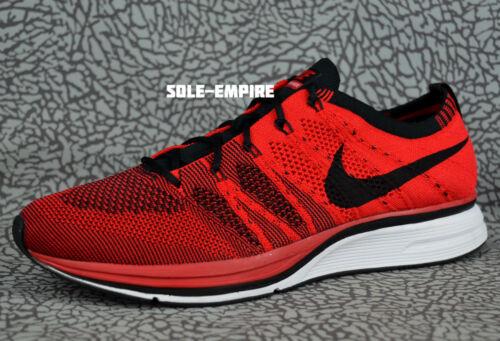 Flyknit Rouge Nike Running Noir Ah8396 601 University Running Nouveau Vente Trainer Hommes Blanc QrBxsothCd