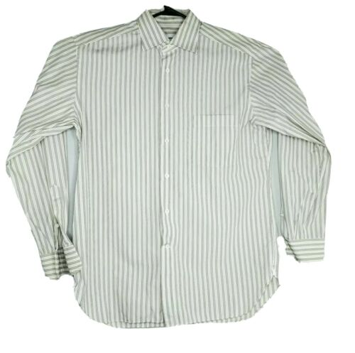 Ermenegildo Zegna 42/16.5 White Green Balanced Str