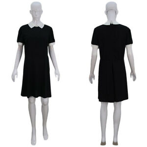 Addams Family Halloween Party.Details About Black Dress Cosplay Addams Family Wednesday Halloween Party Fancy Dress Hc 1150