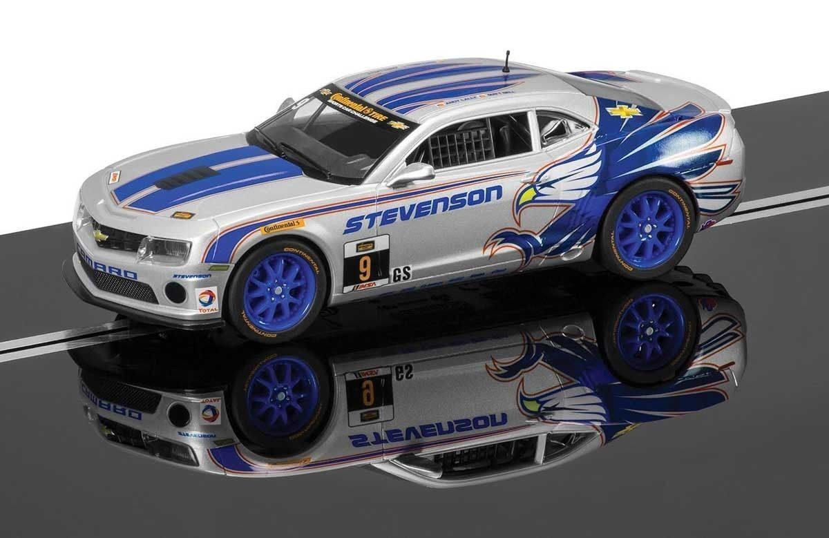 Scalextric Chevrolet Camaro GT-R No9 Matt Bell Bell Bell & Andy Lally (C3596) * New boxed * 417b07