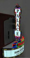 Theater Marquee Combination Animated Sign For N Ho Scale Miller 59982