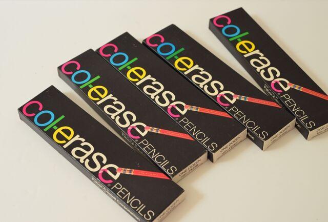 vintage 5 dozens fabercastell colerase pencils 1287