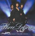 Three Degrees - When Will I See You Again Best of CD Sony Custom