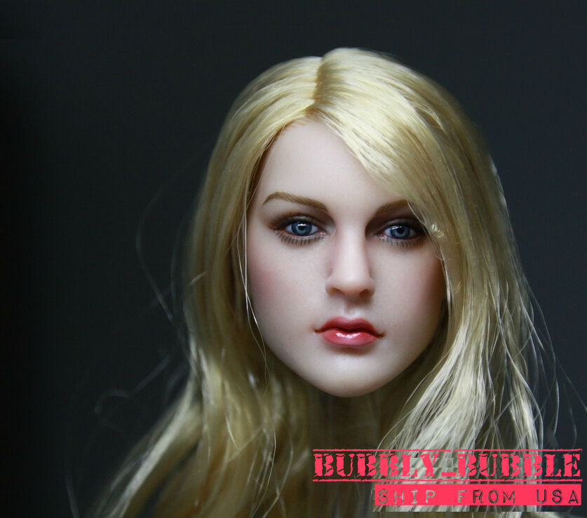 1 6 KIMI KT007 American European Female Head For Phicen Hot Toys SHIP FROM USA