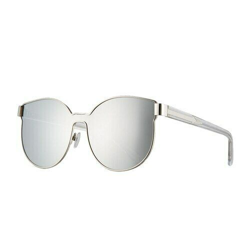 "BRAND NEW Karen Walker /""Star Sailor/"" 1701539 Silver withTort//Mirror Sunglasses"
