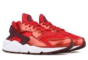 Taglia Nuovo 100 Air 5 Run Huarache Eu Nike Bianco Rosso Uk 40 6 8 Us originale wqxSafXx