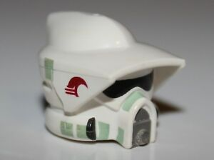 LEGO Parts QTY 5 No 2446 White Minifigure Headgear Helmet Standard