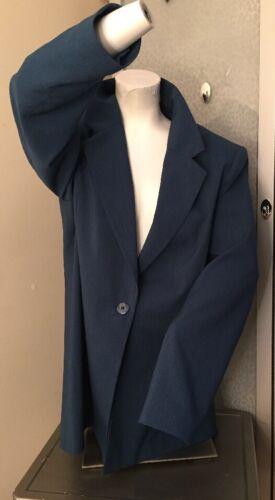 Women's 16T Liz Baker Teal blazer