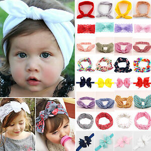 Baby-Toddler-Girls-Kids-Bunny-Bow-Knot-Turban-Headband-Hair-Band-Headwrap-Sweet