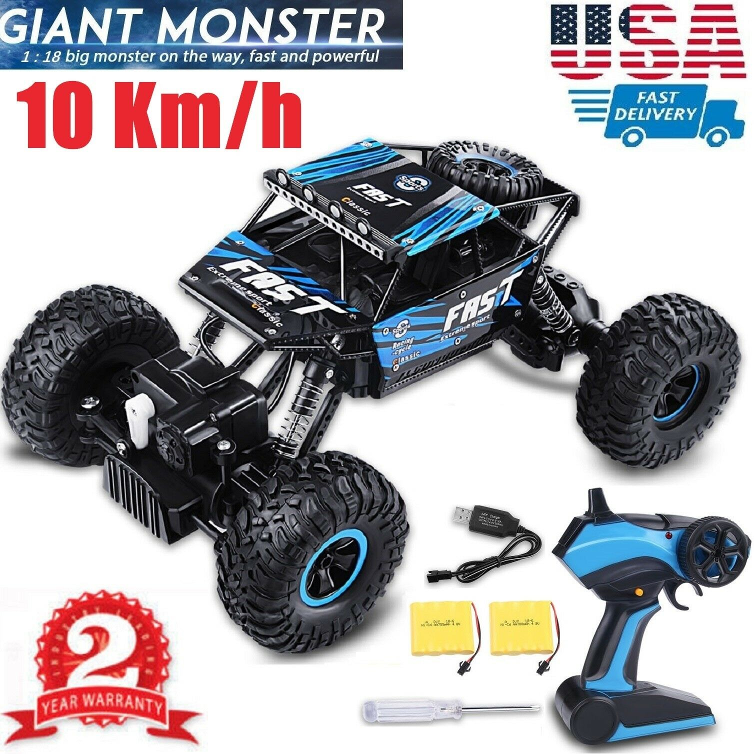 Toy Cars That You Can Drive >> Details About Large 2 4g Rc Cars 4wd Shaft Drive Trucks High Speed Buggy Rc Car Toy For Kids