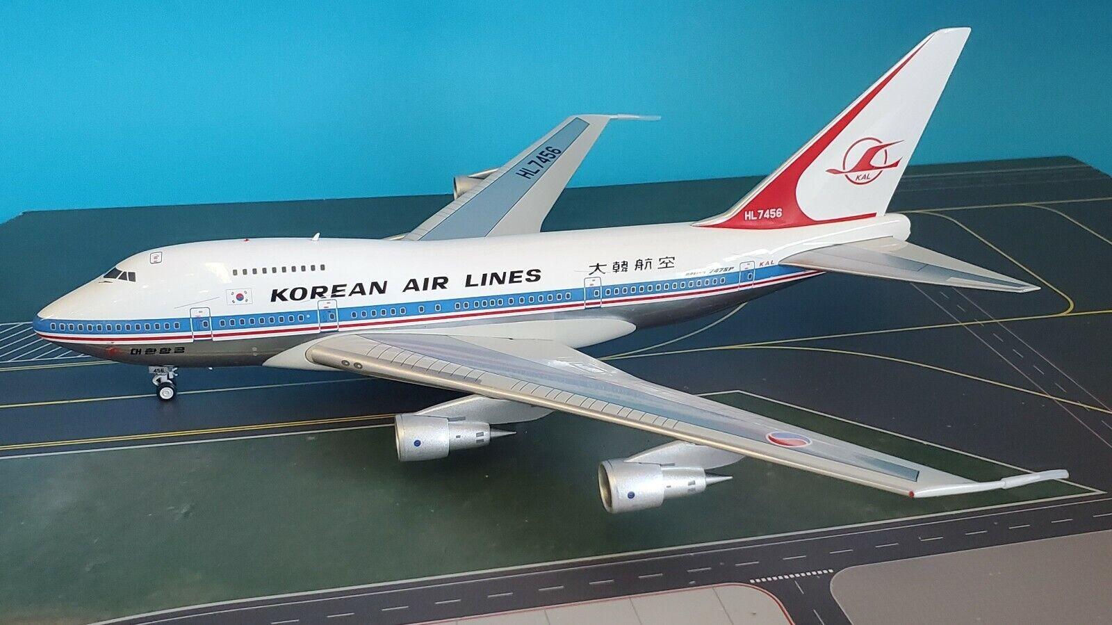 InFlight200 Boeing 747SP Koreanisch HL7456 Ref  IF747SPKL0719P (mit Ständer)