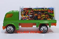 "2005 Matchbox ""Mario Kart 64"" Billboard Truck GREEN/WHITE/MARIO KART 64/MINT"