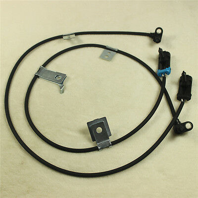Front Left /& Right ABS Wheel Speed Sensor For Chevy GMC Cadillac 1993-2005