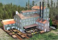 The N Scale Architect 10004 N Long Valley Lumber Mill Kit - 10 X 6 X 6