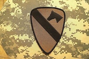 Details about Military Patch US Army 1st Cavalry Division BDU Subdued  Perfect Cond Authentic