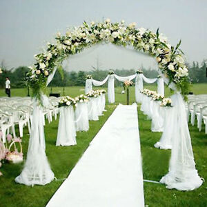 Aisle Runner For Wedding.Details About 15ft X 3 Ft White Wedding Aisle Runner Marriage Ceremony Carpet Roll Party Decor