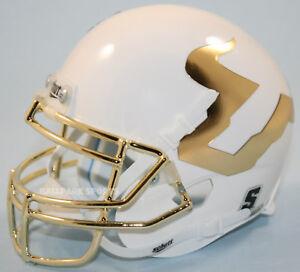 SOUTH FLORIDA BULLS NCAA Schutt Authentic MINI Football Helmet USF CHROME