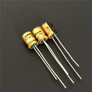 20PCS 330UF 16V NCC RADIAL ELECTROLYTIC CAPACITORS.8X15MM.LXV 16V330UF