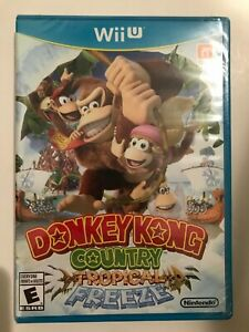 Donkey-Kong-Country-Tropical-Freeze-Wii-U-2014-First-Print-Blue-Case
