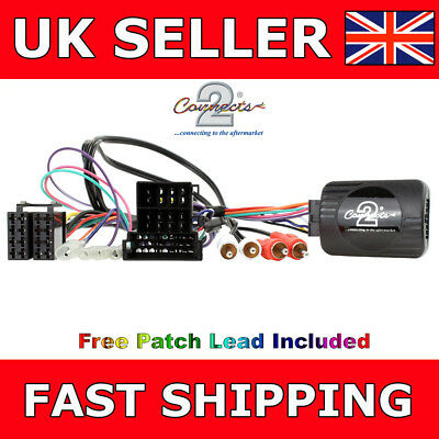Steering Wheel Stalk Control Interface Adaptor Lead for Audi A4