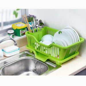 Image Is Loading Washing Holder Basket Great Kitchen Sink Dish Drainer