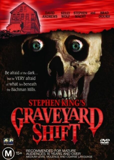 Stephen King Movie Graveyard Shift DVD 1990 Rare Horror R4