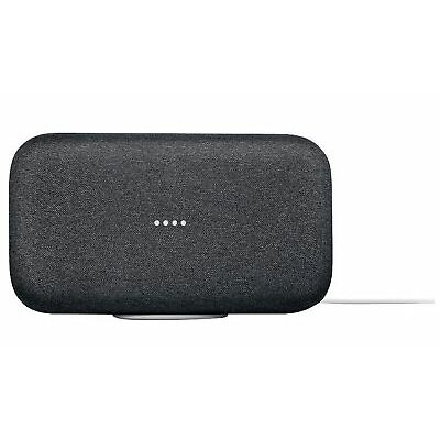 Google Home Max Smart Voice Assistant Speaker - Charcoal