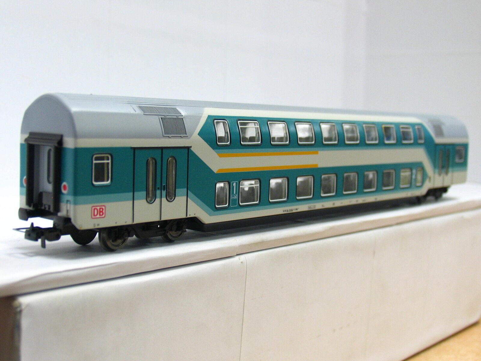 Sachsenmodelle H0 Doppelstockwagen DABz 1.   2. Klasse DB (N668)