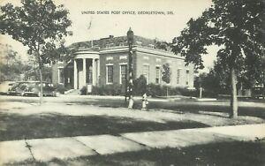 Georgetown-Post-Office-Sussex-County-Delaware-Street-Scene-1940-Postcard
