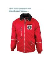 Ems Firefighter Jacket Embroidered W/ Your Name And/or Favorite Logo