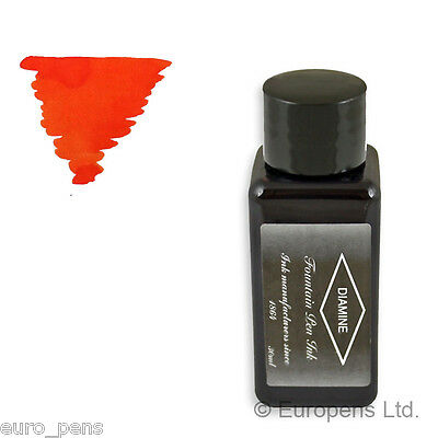 Diamine Bottled Ink (30ml) For Fountain Pens - Oranges / Yellows