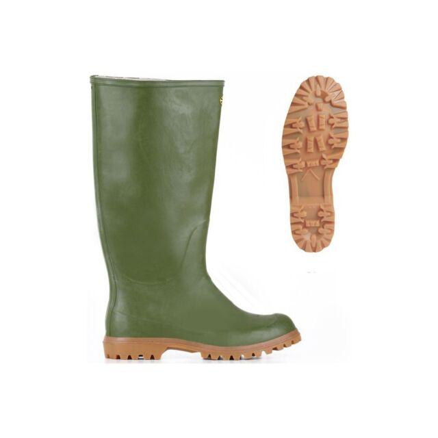 vasta selezione di 9f58e 85481 SUPERGA stivali GOMMA Uomo 7324 GINOCCHIO ALPINA pioggia Verde Oliva 927yx