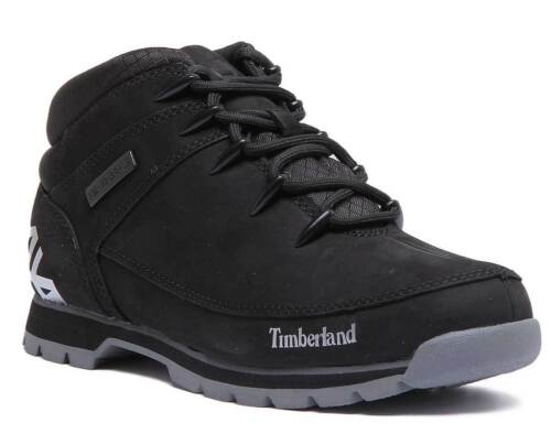 Size Timberland Nabuk Mens 6 12 Uk Black Boots Leather A1ri9 rx0qw4r