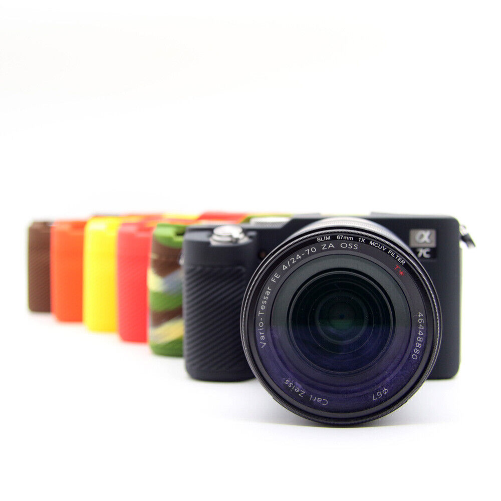 For Sony A7C Alpha Soft Silicone Rubber Camera Protector Skin Case 6C