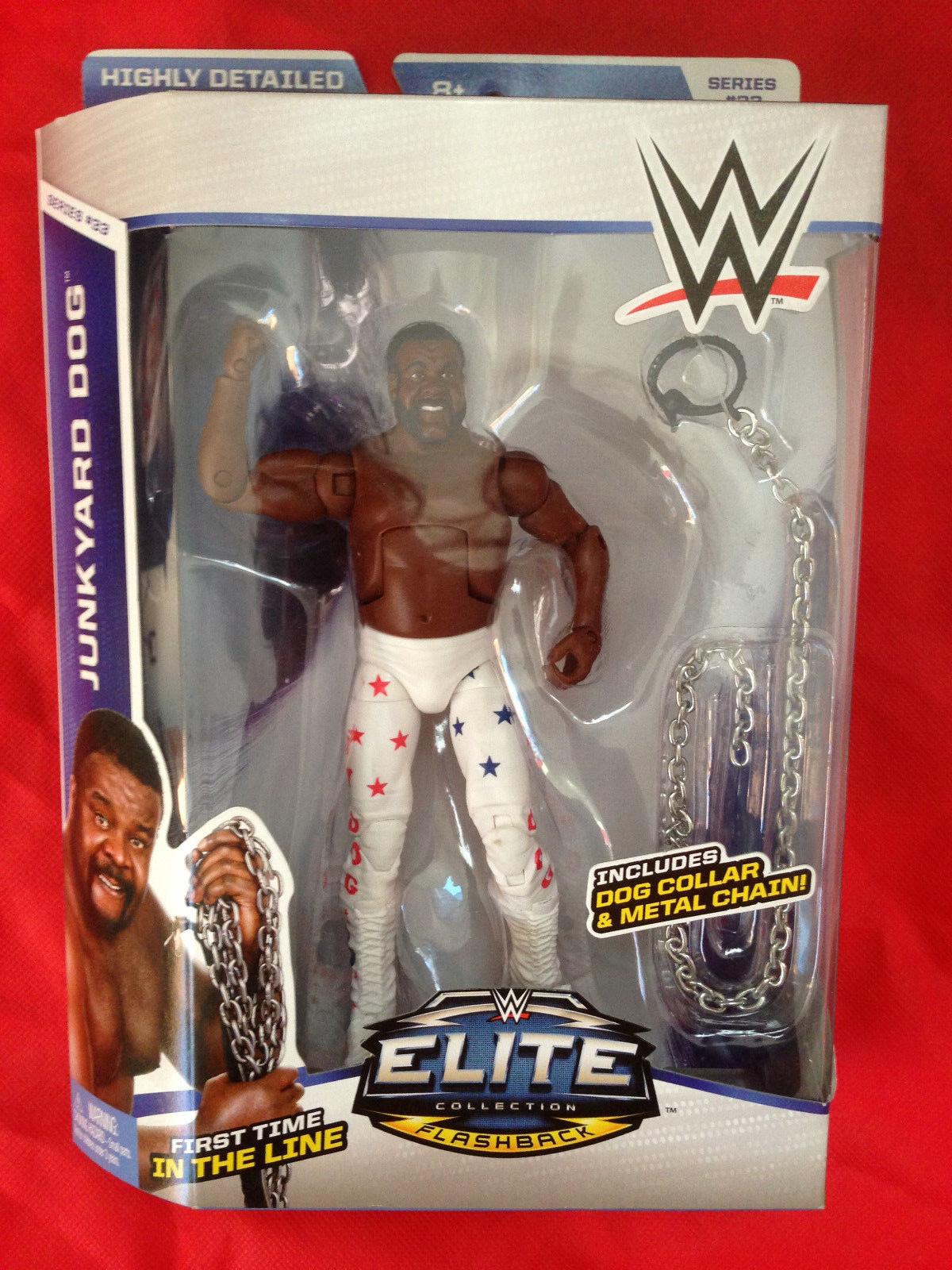 WWE Elite JOHN CENA + JUNKYARD JUNKYARD JUNKYARD DOG Elite figures LOT Mattel Sealed 4b217e
