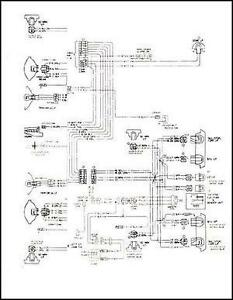 mid 1975 chevy gmc c5 c6 conventional wiring diagram c50 ... conventional wiring diagram