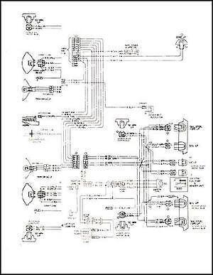 mid 1975 chevy gmc c5 c6 conventional wiring diagram c50 c5000 c60 c6000 truck ebay Chevy C60 Carburetor