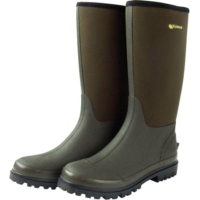 Wychwood 3 4 Length Neoprene Boots - Size 7-12 (WY5602)