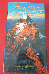 Rare-VHS-French-Movie-Panorama-du-Canada-Une-Aventure-Aerienne