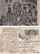 # MONTALBANO JONICO: 20 sett. 1913 DISTRIBUZIONE MEDAGLIE REDUCI DELLA LIBIA