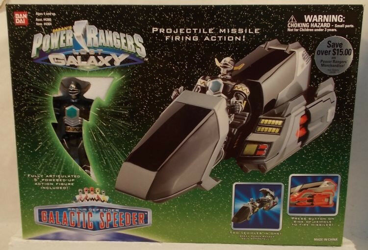 Power Rangers Lost Galaxy Magna Defender Galactic Speeder With Figure (MISB)