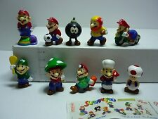 Zaini Supermario Kompletter Satz Fremdfiguren mit 1 BPZ  New Collection