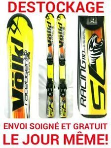 ski-enfant-VOLKL-034-RACE-TIGER-034-tailles-110cm-120cm-130cm-140cm-150cm-fixations