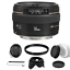 Indexbild 1 - Canon EF 50mm F/1.4 USM Objektiv Bundle für Canon SLR Kameras
