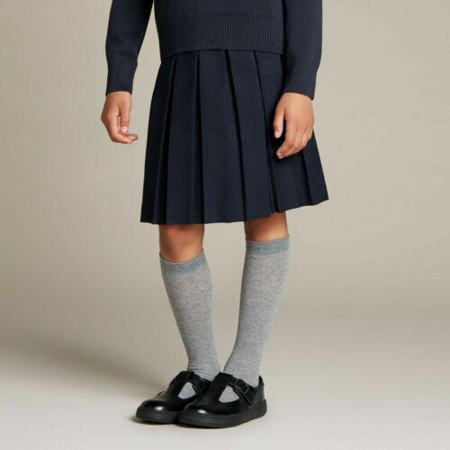 BNIB Clarks Girls Junior//Youth Street Soar Black Leather School Shoes UK 3 1//2 F