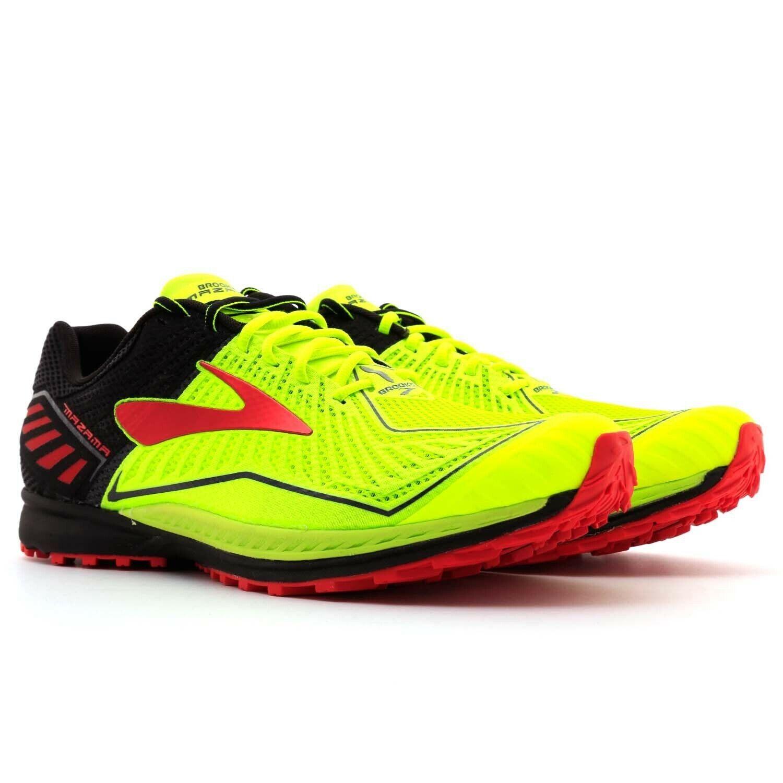 Brooks Mazama D Trail Running zapatos Volt Negro Rojo 1102351 D Talla 12.5 para hombre