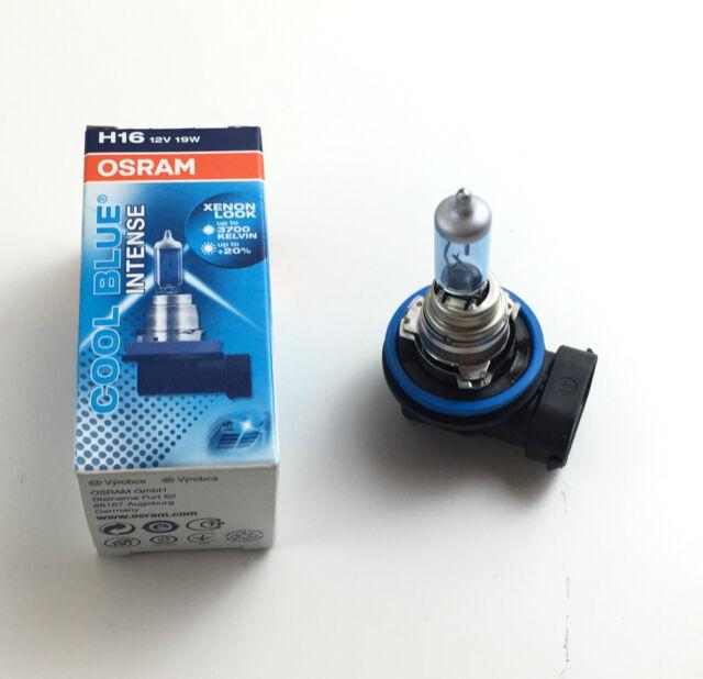 Osram H16 Cool Blue Intense 64219cbi 12v 19w Xenon Look Fabricado en Alemania