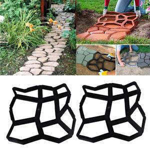 2 pi ces la maison jardin bricolage plastique moul pav. Black Bedroom Furniture Sets. Home Design Ideas