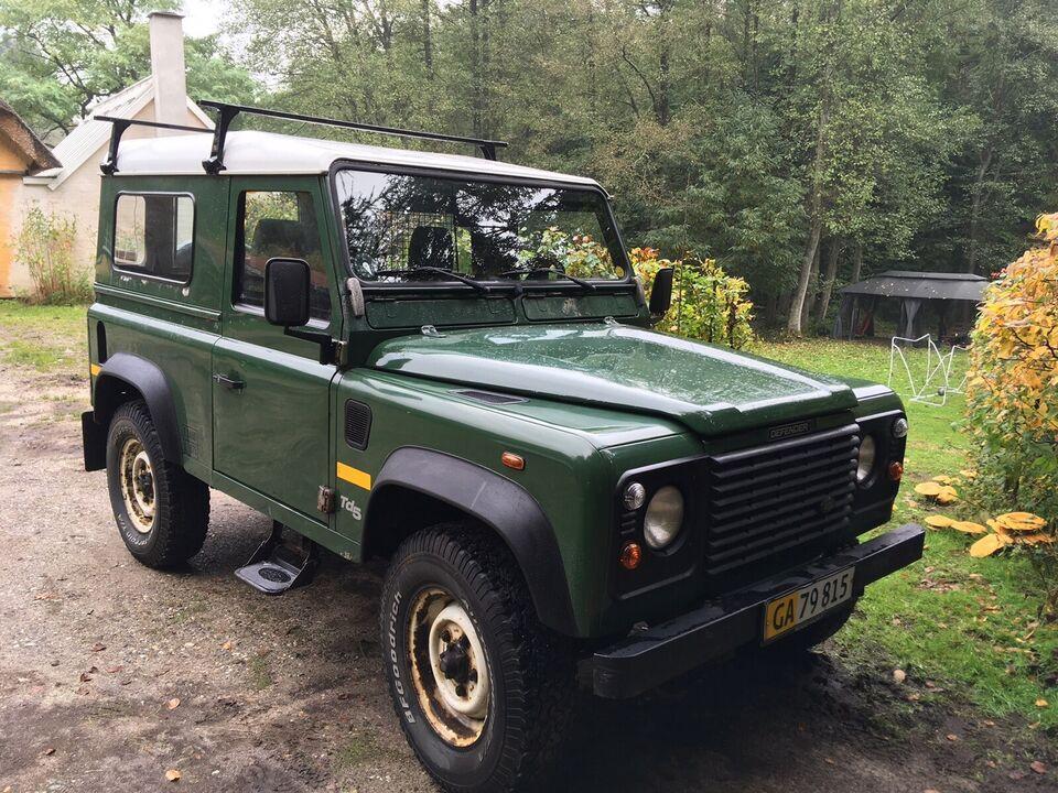"""Land Rover, Defender, 2,5 Td5 90"""" Hard-Top"""